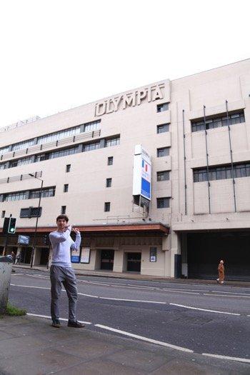 016年以降、Hyper Japan の会場として使われているオリンピア。O2アリーナやアールズ・コート・エキシビション・センターと並ぶ、ロンドン屈指の大規模なイベント施設だ