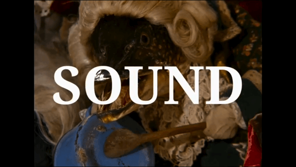 jan svankmajer talks about sounds in his film