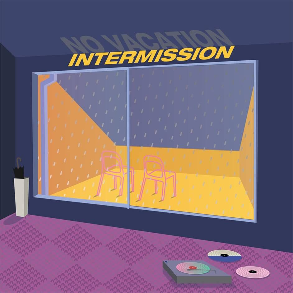 新作EP「 Intermissiom 」アートワーク