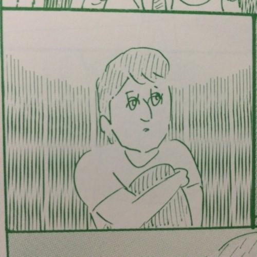 大橋裕之さんが描くメッシ。笑いました。