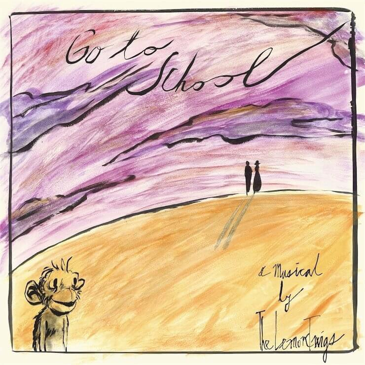 The lemon twigs「Go to School」Artwork
